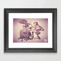 Hitwoman Framed Art Print