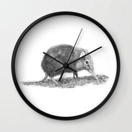 Black Shrew Wall Clock