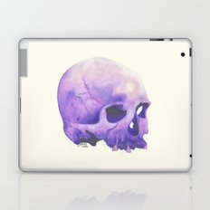 Purple Skull Laptop & iPad Skin