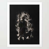 hunter Art Prints featuring hunter by barmalisiRTB