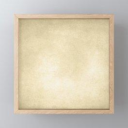 Simply Antique Linen Paper Framed Mini Art Print