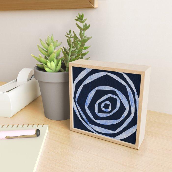 awake and alive Framed Mini Art Print
