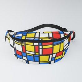 Mondrian Style 2 Fanny Pack