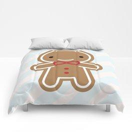 Cookie Cute Gingerbread Man Comforters