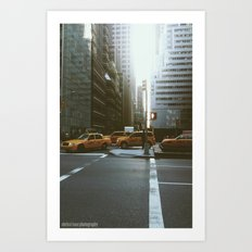 Streets of NYC Art Print