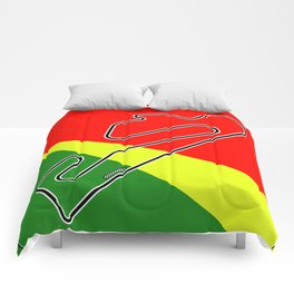 Estoril Racetrack Comforters