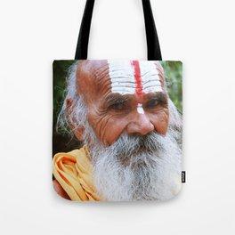 Saint smile Tote Bag