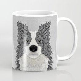 Border Collie - blue merle Coffee Mug