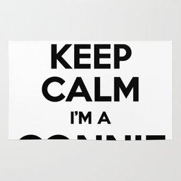 I cant keep calm I am a CONNIE Rug