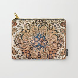 Ferahan Arak  Antique West Persian Rug Print Carry-All Pouch