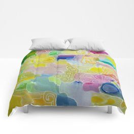 Abstract 55 Comforters
