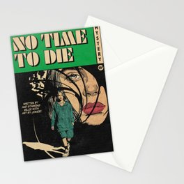 Retro vintage poster Billie | NO TIME TO DIE | Stationery Cards
