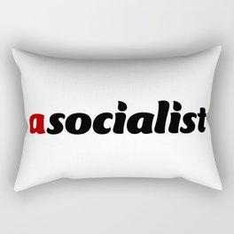 asocialist Rectangular Pillow