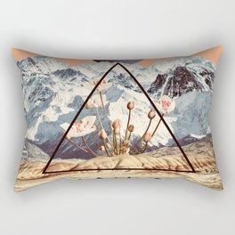 Desert Orchid Rectangular Pillow
