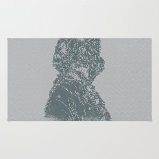 Wolf Amadeus Mozart Rug