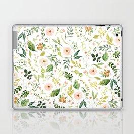 Botanical Spring Flowers Laptop & iPad Skin