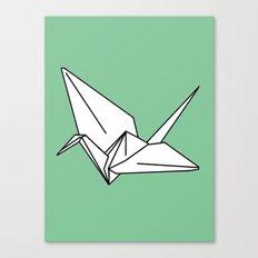 Paper Crane, 2013. Canvas Print