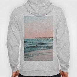 Beach Pier Sunrise Hoody
