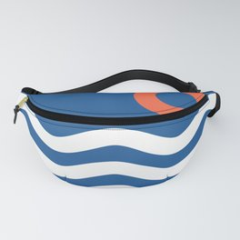 Nautical 03 Seascape Fanny Pack