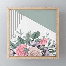 FLOWERS IX Framed Mini Art Print