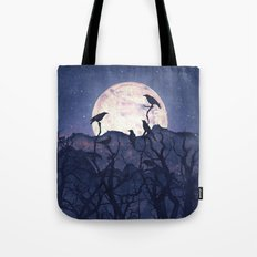 Midnight Chorus Tote Bag
