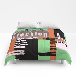 Election Day 6 Comforters