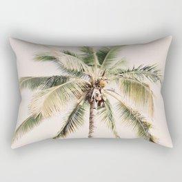 Tropical Palm Tree Rectangular Pillow