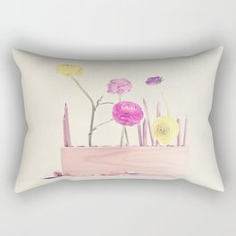 The artist loves pastel Rectangular Pillow