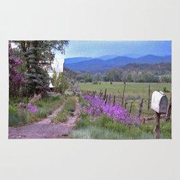 Dames Rocket Ranch by CheyAnne Sexton Rug