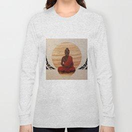 Buddha marquetry Long Sleeve T-shirt