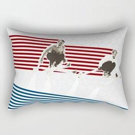 Race you to the Bottom Rectangular Pillow