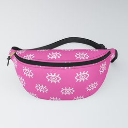 Eyes on You - Pink Fanny Pack
