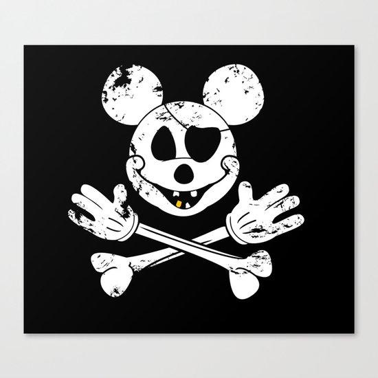 The Jolly Mickey Canvas Print
