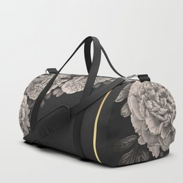 Flowers on a winter night Duffle Bag