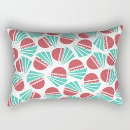 Bobbing Boats Rectangular Pillow