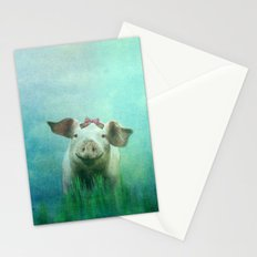 Lucky Pig Stationery Cards