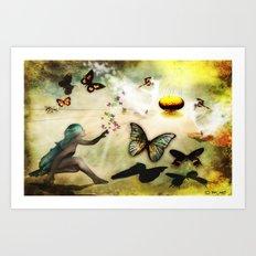 Celebration  of Life Art Print