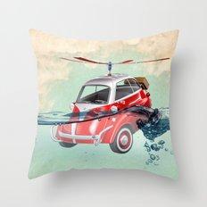 Isetta  all terrain vehicle Throw Pillow