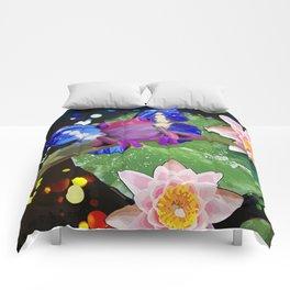 Amphibian Reborn Comforters