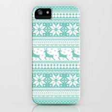 Reindeer Sweater iPhone (5, 5s) Slim Case