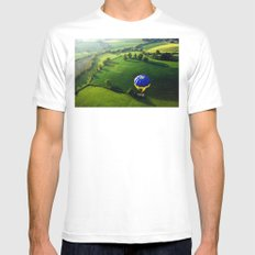 Above The Shires Mens Fitted Tee MEDIUM White
