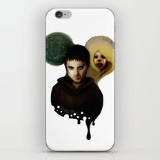 the Master & the BadWolf iPhone & iPod Skin