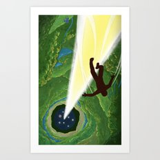 Descent Art Print