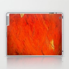 Rustic Orange Home Decor - Comforters - Tapestry - Pillows - Rugs - Shower Curtains Laptop & iPad Skin