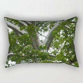 Metal Tree Rectangular Pillow