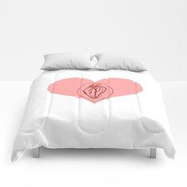 I Heart Vagine Comforters