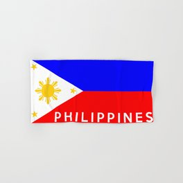 flag of Philippines Hand & Bath Towel