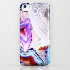 Agate, a vivid Metamorphic rock on Fire Slim Case iPhone 5c