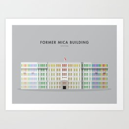 Former MICA Building, Singapore [Building Singapore] Art Print