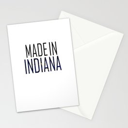 Made In Indiana Stationery Cards